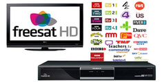 FreeSat TV installation & setup